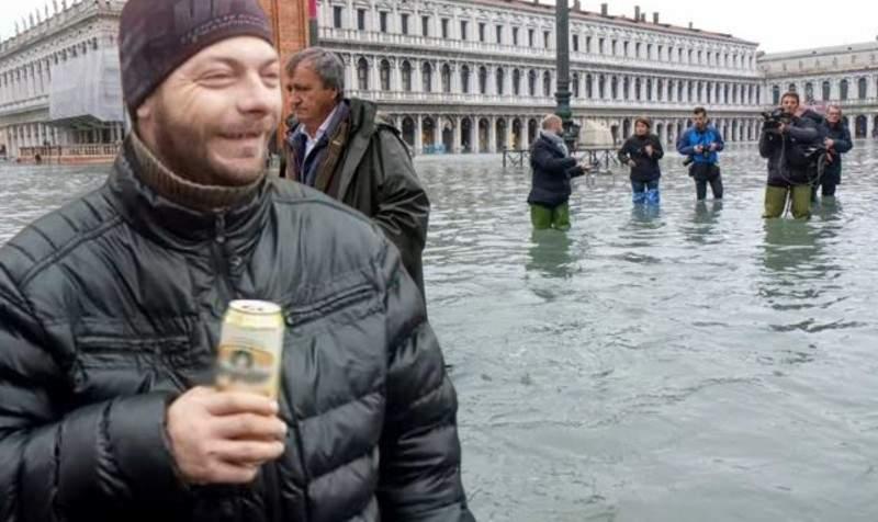 Inundaţii în Veneţia. Mii de moldoveni stabiliţi acolo cer despăgubiri de la statul român