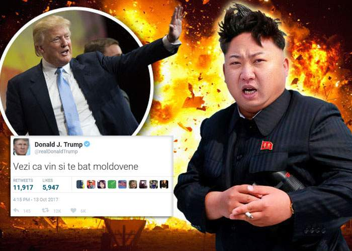 Războiul cu Coreea de Nord e acum inevitabil: Trump l-a făcut pe Kim Jong-un moldovean