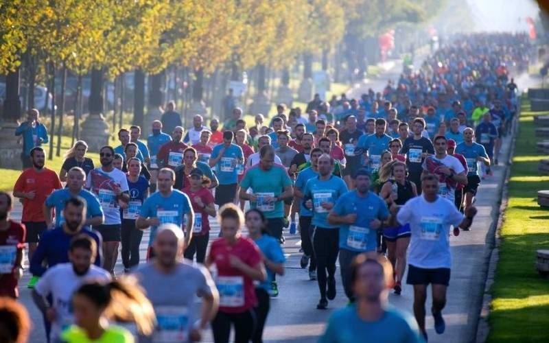 Foto! Cei 3000 de moldoveni care au aceeași adresă au ieșit să facă sport individual