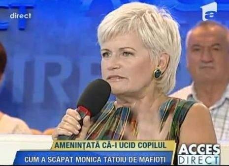 Prea multă Monica Tatoiu la televizor, principala cauză a violenţei în şcoli