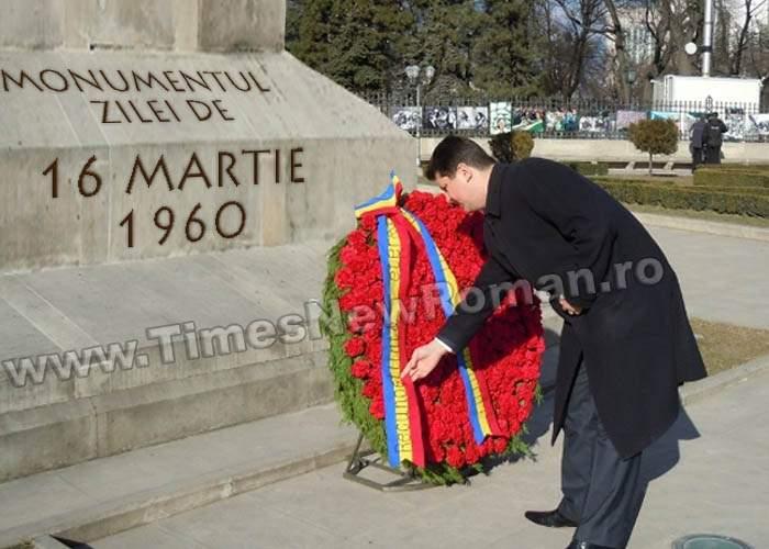 16 martie 2011, 51 de ani de la 16 martie 1960