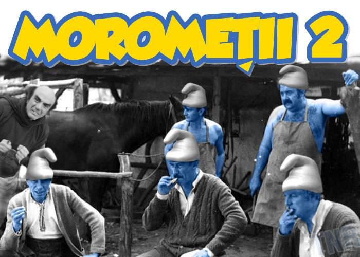 Veşti bune pentru copii: Moromeţii 2 va fi despre nişte moromeţi mici, albaştri, pe care îi tot vânează Gargamel