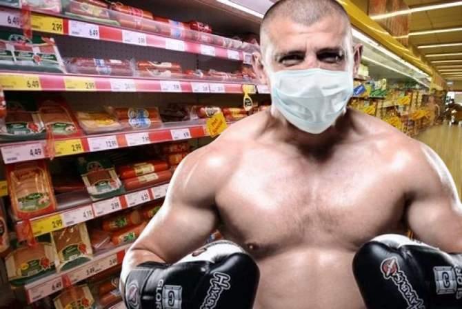 Moroșanu se plânge că nu poate cumpăra nimic de când trebuie să poarte mănuși