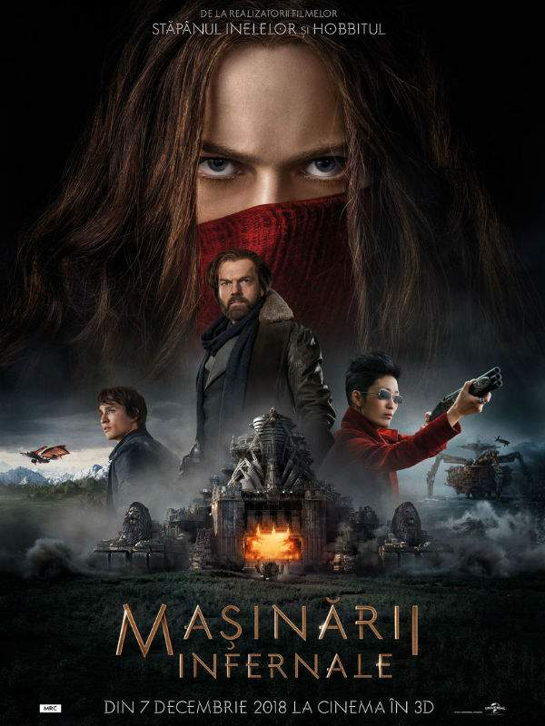 "Mortal Engines 3D (2018) – ""Cum bate tacheții?"""