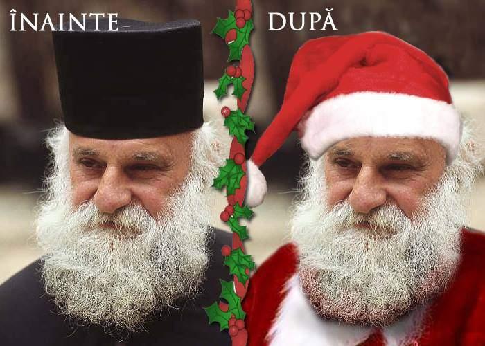 BOR îmbracă preoții în costume roșii și-i închiriază părinților care vor un Moș Crăciun pentru copii