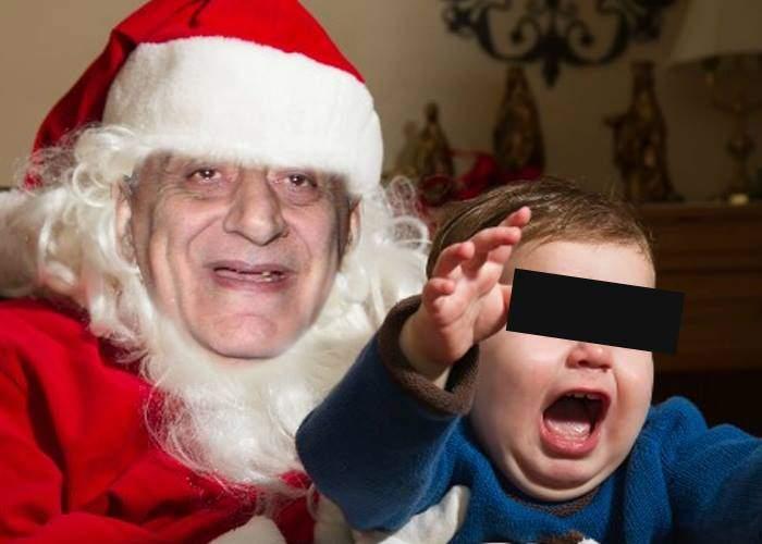 Crăciun de coșmar! Au închiriat un Moș Crăciun pentru copil și s-au trezit cu Viorel Lis în casă