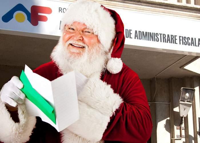 Noi obiceiuri de Sărbători: După Moş Crăciun vine Moş Fisc şi ia înapoi jumătate din jucării