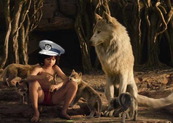 Mowgli de la Rutieră! Un poliţist stă de atât de mult timp cu radarul în boscheţi că s-a sălbăticit