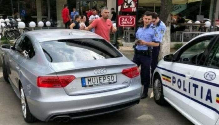 Păi zi aşa, boss! Poliţia Română a decis clasarea dosarului MUIEPSD după ce în talonul maşinii s-au găsit 50 de euro