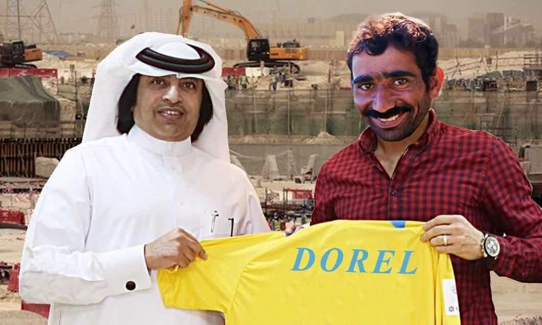 Transferul anului! Doi muncitori care demolau stadionul Ghencea, vânduți de Becali la o firmă de construcții din Qatar