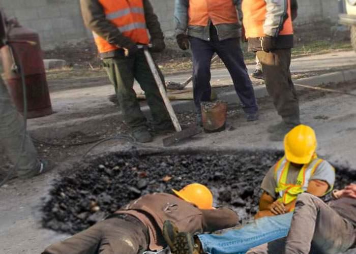 Drumarii care săpau o groapă în Bucureşti au găsit o echipă de muncitori care dormea acolo din '92