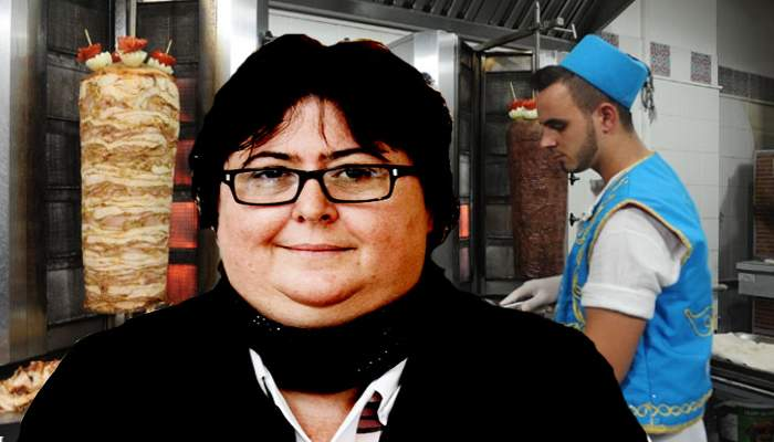 E criză de şaorma în România? Alina Mungiu Pippidi mănâncă de câteva zile doar căcat