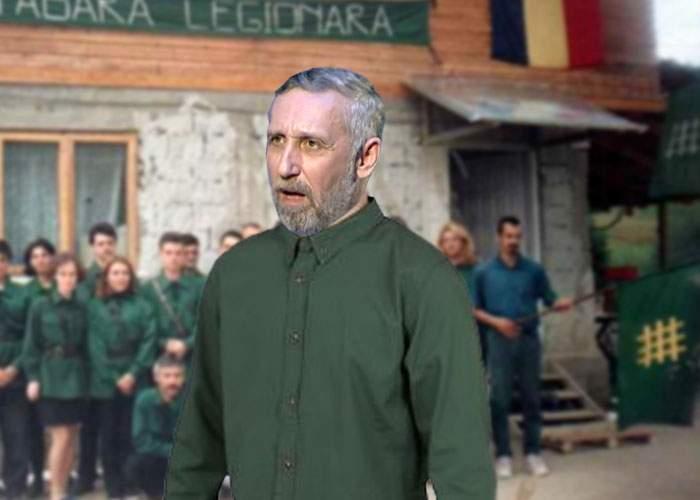 """Marian Munteanu se apără: """"Copiii mei, Corneliu şi Zelea, pot confirma că nu sunt legionar!"""""""
