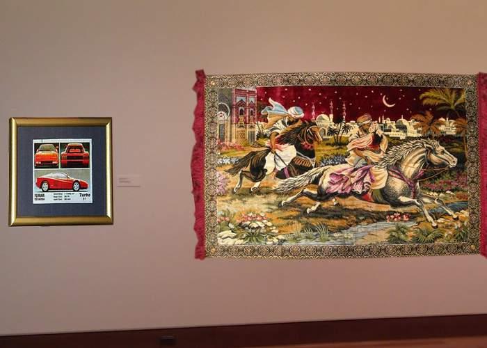 În schimbul tablourilor furate, România trebuie să trimită în Olanda 7 carpete cu Răpirea din serai