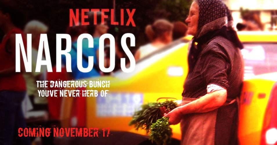 E oficial! Următorul sezon din Narcos va fi despre o babă şi reţeaua ei de pătrunjel
