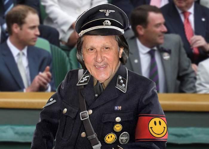 Dovada supremă! Ca să arate că nu e rasist, Ilie Năstase şi-a scos svasticile de pe uniforma de general