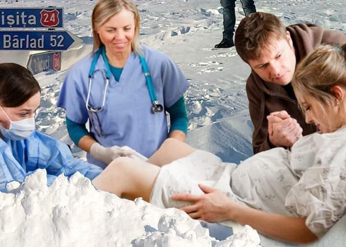 Nou! După naşteri sub apă, în Moldova au ajuns la modă naşterile sub zăpadă