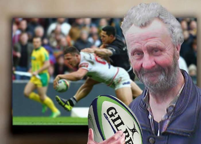 Singurul bărbat din România! S-a uitat la un meci de rugby când toţi se uitau la filmul cu prinţese şi dragoni