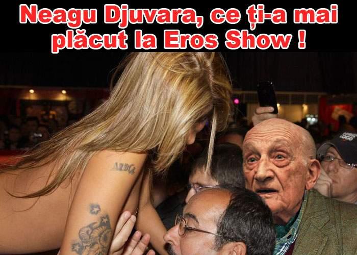 Neagu Djuvara, surprins de paparazzi la Eros Show