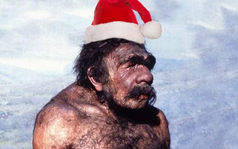 Neanderthalienii din Vaslui serbează azi Crăciunul pe stil foarte, foarte vechi
