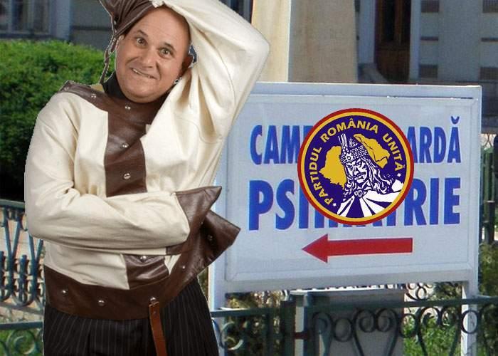 Nebunul evadat de la Săpoca, prins în Capitală! Tocmai fusese numit vicepreşedinte PRU