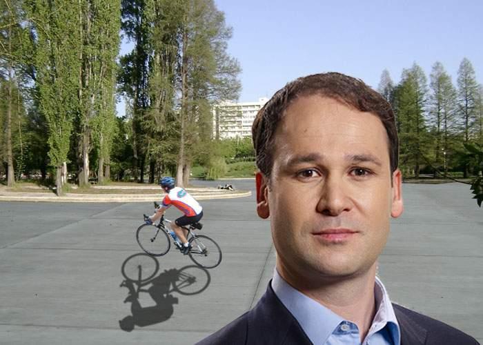 Adio hidrobiciclete în IOR! Negoiţă va betona lacul ca să ne putem plimba pe el cu bicicleta normală