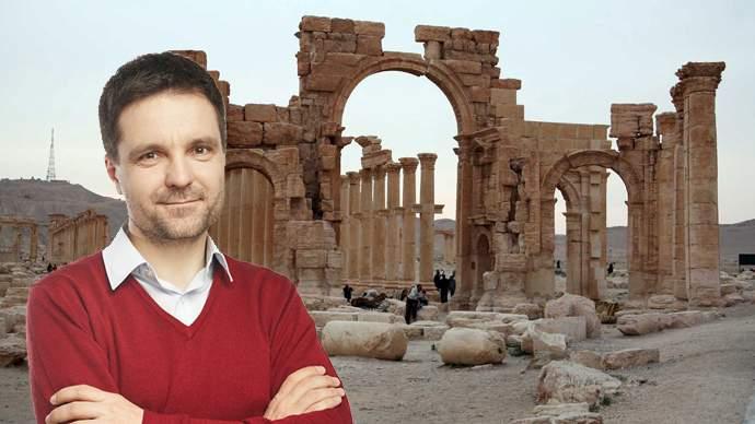 Gata cu distrugerile de monumente în Palmyra! Nicușor Dan merge în Siria, să lupte împotriva ISIS