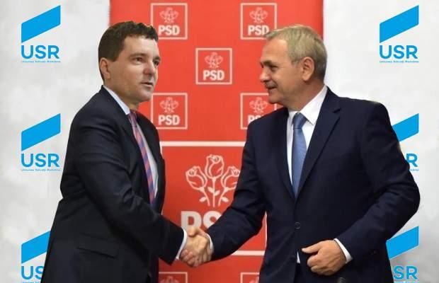 """Nicușor Dan, recompensat de Dragnea după ce l-a refuzat pe Cioloș: """"Te las să treci ce lege vrei prin Parlament"""""""