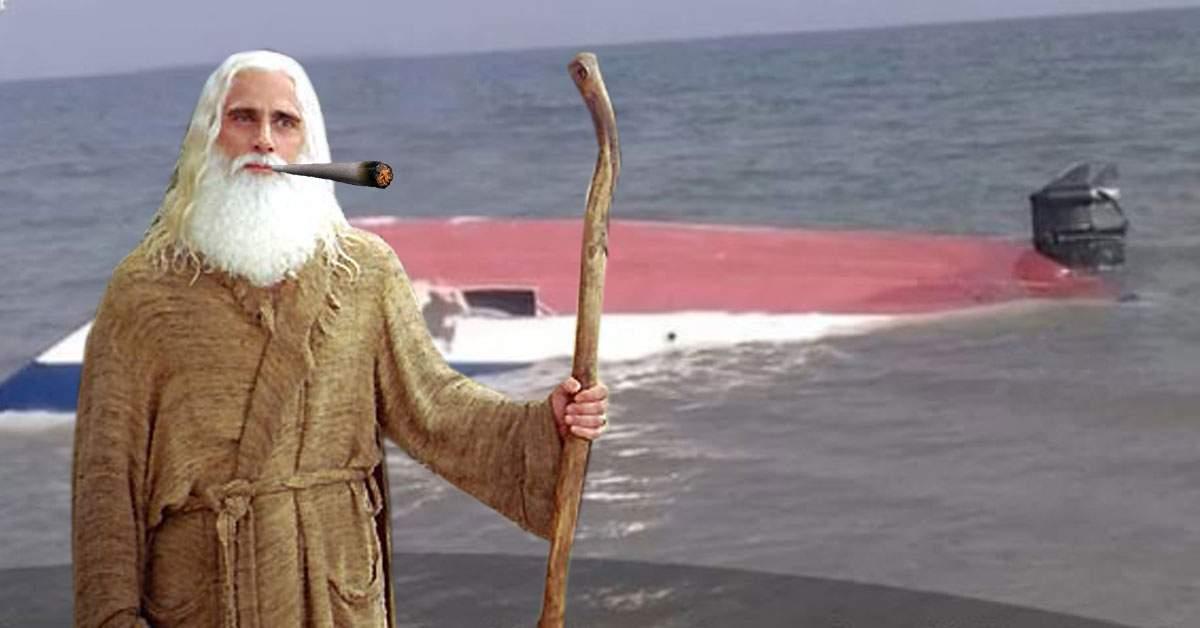 Noe din Deltă! Dumnezeu i-a spus unui român să pună într-o şalupă 2 kg din fiecare drog
