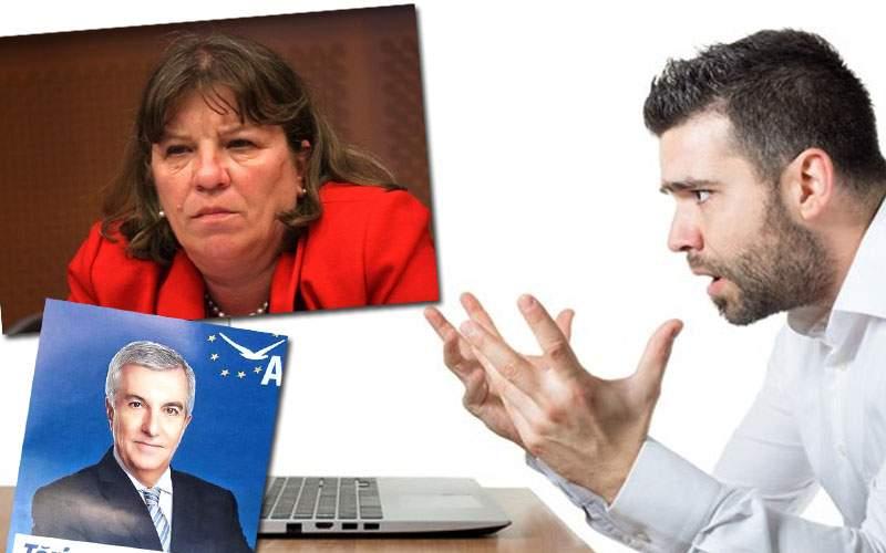După ce l-a întinerit pe Tăriceanu, photoshopistul ALDE încearcă s-o facă sexy pe Norica