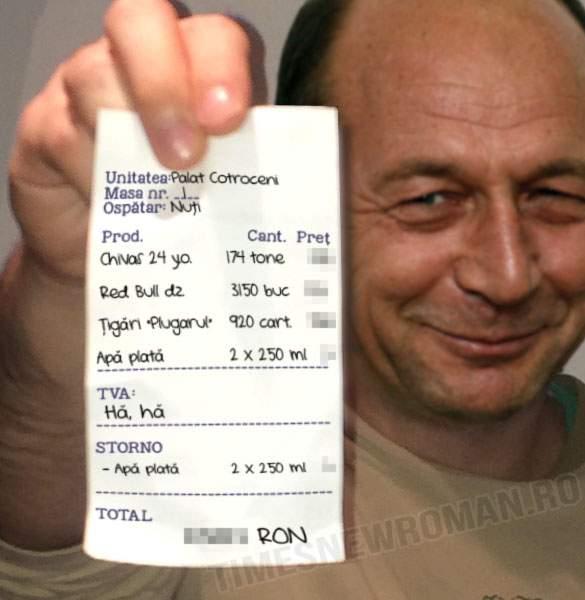 Foto exclusiv! Adevăratul bilanț al celor 10 ani de Traian Băsescu