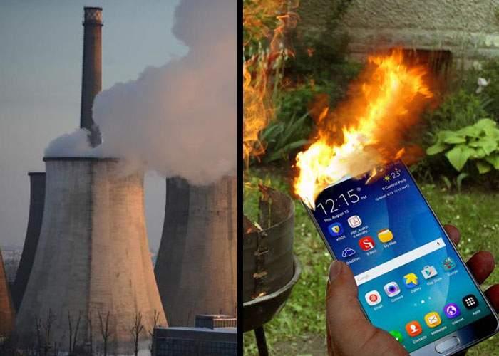 Surse: pentru a asigura încălzirea la iarnă, RADET a cumpărat tot stocul de telefoane Samsung Note 7