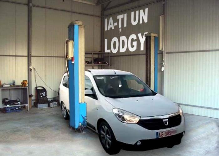 Noul model Dacia Lodgy va fi disponibil în reţeaua de service-uri din această primăvară