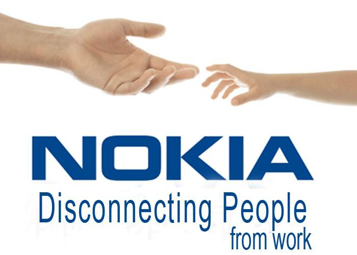 """Nokia România şi-a prezentat noul slogan: """"Disconnecting people from work"""""""