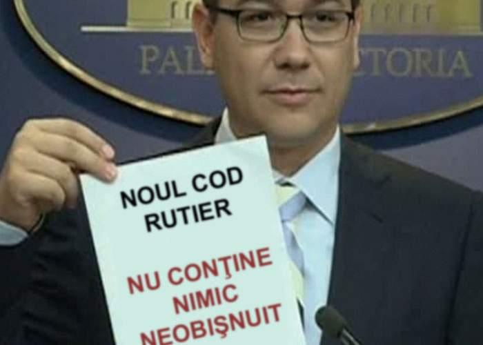Pervers! Ponta a strecurat în noul Cod Rutier un articol care permite exploatarea aurului cu cianuri
