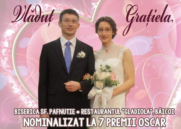 O filmare de la nunta unui cuplu de români, nominalizată la 7 premii Oscar