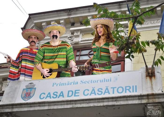 Anul ăsta sunt la modă nunţile mexicane, cu La Bamba şi Cucaracha la taragot şi taco în loc de tort