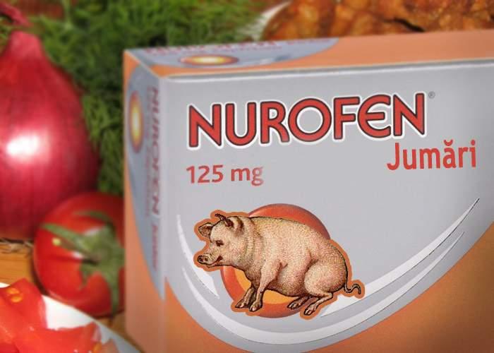 S-a lansat Nurofen Jumări, pentru graşii care vor să scape de răceală şi gripă