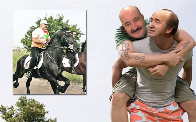 Deoarece calul n-a fost gata la timp, Nuţu a ieşit din puşcărie călare pe Tudorel Toader
