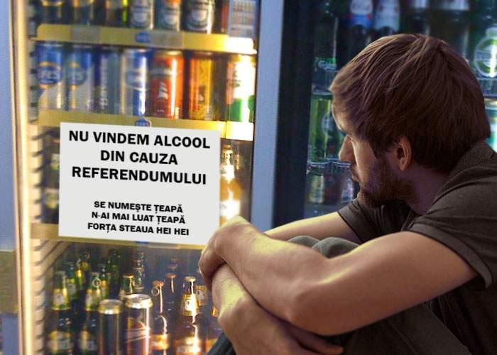 Lecţia învăţată de români după referendum: să ai rezerve de bere, să nu te trezeşti că nu-ţi vinde la chioşc