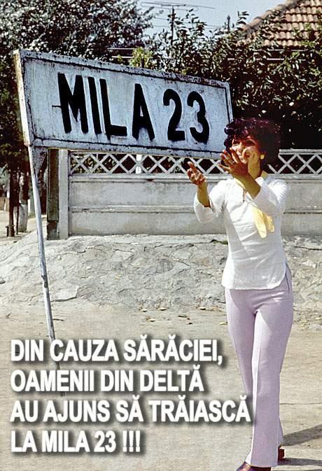 Sărăcia i-a făcut pe oamenii din Delta Dunării să trăiască la Mila 23