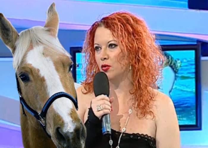 Oana Lis vrea să-l înlocuiască pe Viorel Lis cu un animal mai frumos şi mai nobil, calul