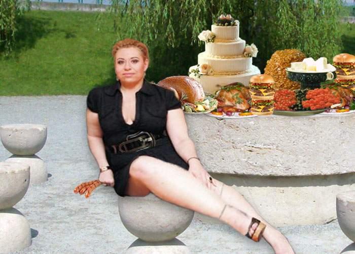 După CRBL, și Oana Roman a pozat cu una din operele lui Brâncuși: Masa Tăcerii