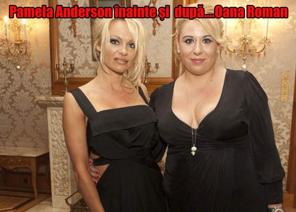 Oana Roman, Pamela Anderson de România
