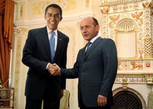 Băsescu se va întâlni la Washington cu sosia lui Obama