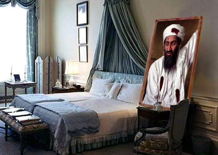 Obama şi-a pus pe noptieră, la capul patului, poza cu Osama mort