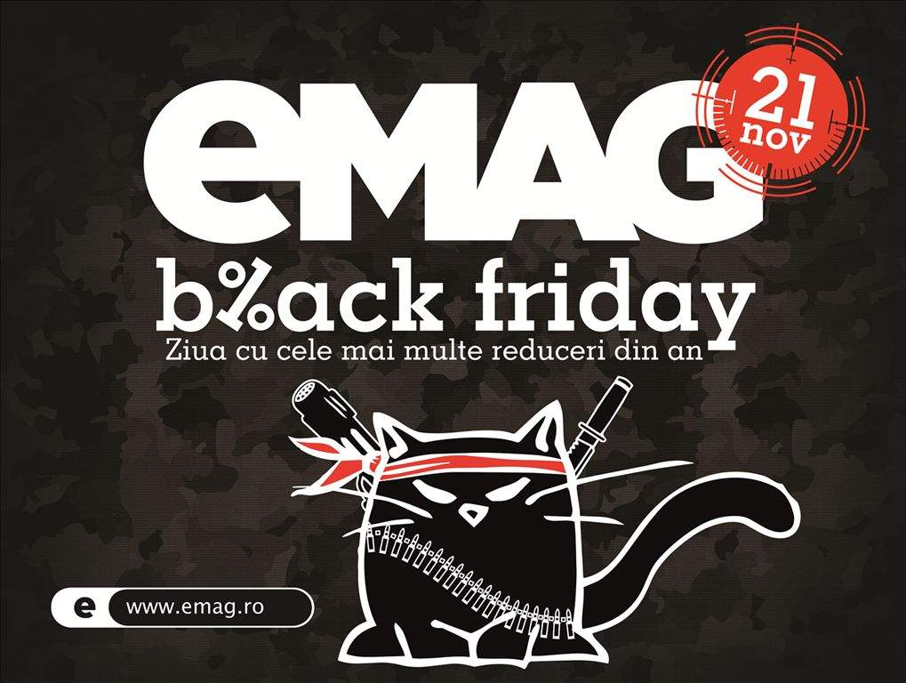(P) Sărbătorile încep cu Black Friday