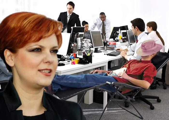 Olguţa Vasilescu: Firmele cu peste 50 de angajaţi vor fi obligate să aibă şi un pesedist care nu face nimic
