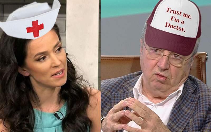 Dispută medicală. Dr. Olivia Steer și dr. Ion Cristoiu se contrazic pe COVID