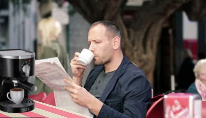 Sătul să aştepte cafeaua, un român şi-a luat espresor de pe OLX și i-a ajuns înaintea chelnerului